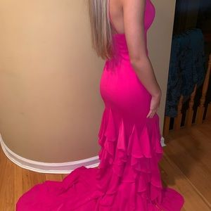 Terani Couture Dresses - Pink prom dress (never worn)